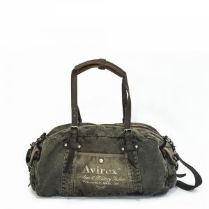 Avirex - 140506 - Borsone da palestra 1 scomparto verde militare cod. A
