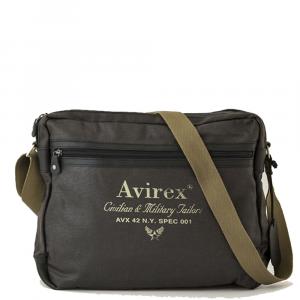 Avirex - Alifax - Borsa a tracolla unisex 1 scomparto verde scuro cod. A8