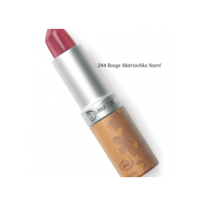 Couleur Caramel Rossetto Nacrè Numero 244 (Rouge Matriochka)