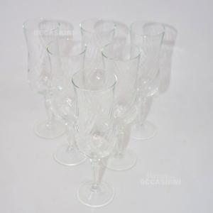 Bicchieri Vetro Flut Tulipano