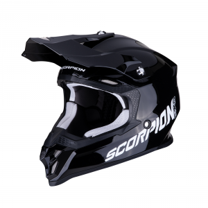 CASCO MOTO CROSS SCORPION VX-16 AIR SOLID BLACK