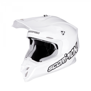 CASCO MOTO CROSS SCORPION VX-16 AIR SOLID WHITE