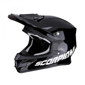 CASCO MOTO CROSS SCORPION VX-21 AIR SOLID BLACK