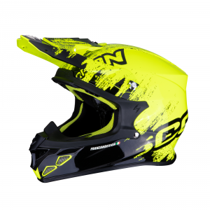 CASCO MOTO CROSS SCORPION VX-21 AIR MURDIT BLACK NEON YELLOW