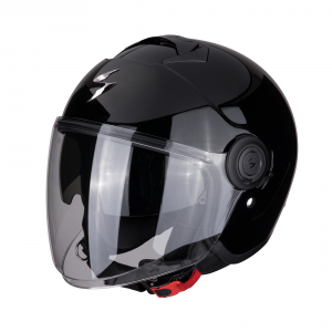 CASCO MOTO JET SCORPION EXO-CITY SOLID BLACK