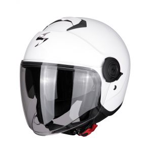 CASCO MOTO JET SCORPION EXO-CITY SOLID WHITE
