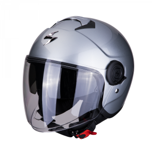 CASCO MOTO JET SCORPION EXO-CITY SOLID SILVER
