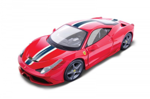 BBURAGO 458 Special 1/18 Rally Racing miniature collectible junior car kit 104