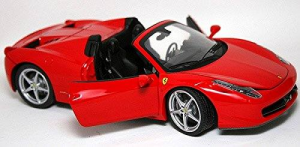 BBURAGO 458 Spider 1/24 miniature toy model collectible car kit 607