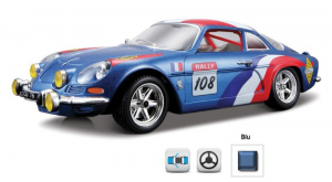 BBURAGO Renault Alpine A110 1600S 1/24 miniature collectible junior car kit 613