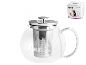 BIALETTI Italian Infuser Teapot Glass Teapot Lt 1 Kitchenware Italian Style