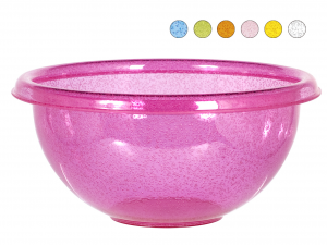 CHIO Acrylic Salad Bowl Assorted Colors Cm32 Cups Cups And Bowls
