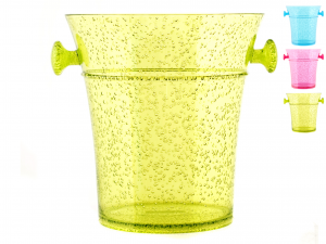 CHIO Assorted Champagne Acrylic Bucket Kitchen tools