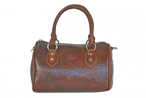 CUOIERIA FIORENTINA Leather Handbag woman bag Leather Brown  Italian Style