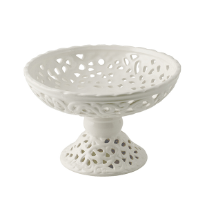 H&H Lift Cm20.5 Ceramic Trays And Risers Italian Style Exclusive Brand Italy