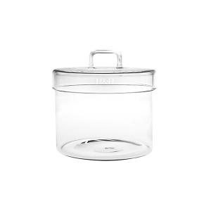 H&H Jar Borosilicate Borosilicate Cover Lt0.65 Jars Italian Style Exclusive Brand