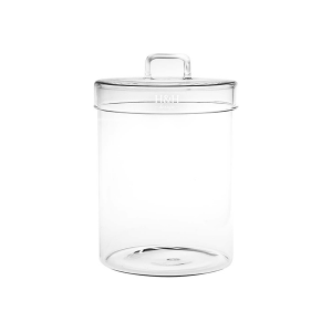 H&H Jar Borosilicate Borosilicate Cover Lt1.0 Jars Italian Style Exclusive Brand