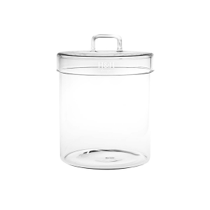 H&H Jar Borosilicate Borosilicate Cover Lt1.4 Jars Italian Style Exclusive Brand