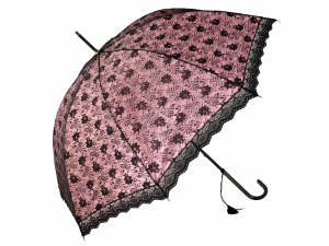 H&H Umbrella Mech Lolita Pink 90Cm Containers And Umbrella Stands Made in Italy