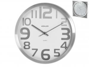 H&H Aluminium Wall Clock Round 30 Clock And Alarm Clock Italian Style Italy