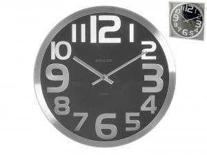 H&H Round Aluminum Wall Clock Ner30 Clock And Alarm Clock Italian Style Italy