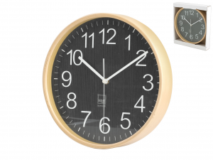 H&H Round Wooden Wall Clock Cm25 Clock And Alarm Clock Italian Style Italy