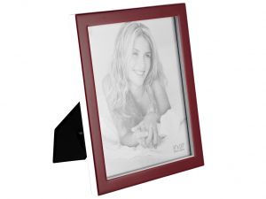H&H Photoframe Red Plastic Cm20X25 Frames And Mirrors Italian Style Italy