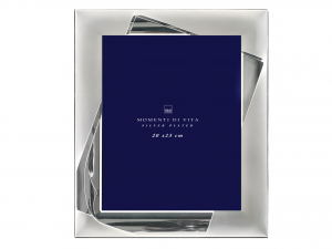 H&H Silver Photo Frame 20X25 Frames And Mirrors Italian Style Exclusive Brand