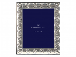 H&H Photoframe Silver Spiral 20X25 Frames And Mirrors Italian Style Italy