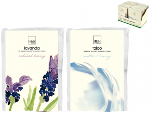 H&H Set Tris 24 sachets scented talcum Fresheners HOME office environment Italy