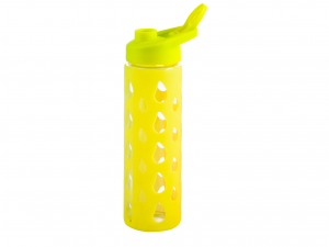 H&H Set 3 Bottle borosilicate / Silicone Yellow Stage Plastic 0.55 Cl Italy