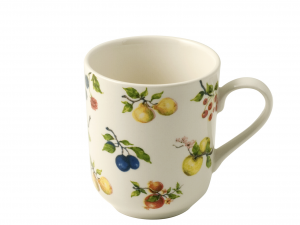 HOME Set 6 Mug fruit season cc345 Breakfast Exclusive Design Italian Style