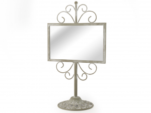 H&H Mirror With Base Frames And Mirrors Italian Design Exclusive Brand Italy