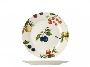HOME Set 6 dishes fruit season fruit cm20,9 Exclusive Design Italian Style