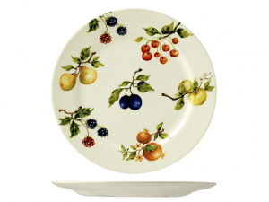 HOME Set 6 dishes fruit season plan cm26,6 Exclusive Brand Design Italian Style