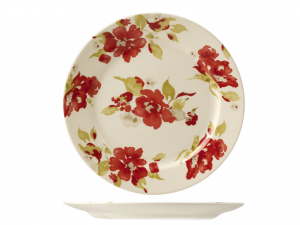 HOME Set 6 Dishes passion blossom plan cm26,6 Exclusive Design Italian Style