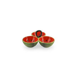 HOME Centerpiece Ceramic Watermelon 3P 22.5 Table Decorations Top Italian Style