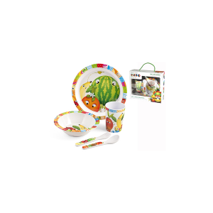 HOME Set 5 Baby Melamine Expo Baby Exclusive Brand Design Italian Style