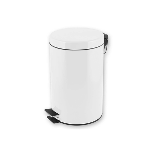HOME Stainless Steel Trash Can With Pedal Lt12 Exclusive Design Italian Style