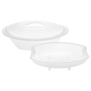 HOME PROFESSIONAL Itaian Steam cookers silicone ghost 3 pieces Pans preparation