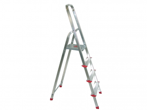 HOME Aluminum Ladder 3 Steps Exclusive Brand Design Italian Style