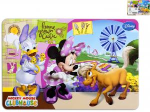 HOME Set 12 Mats Polypropylene Disney Minnie Farm Baby Exclusive Italian Style
