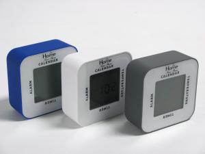 HOME Pack 4 Alarm Clocks Multifunction Assorted Color Exclusive Italian Design