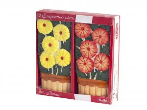 HOME Set 6 Packs 2 Flowers Ceramic Evaporators Exclusive Design Made in Italy