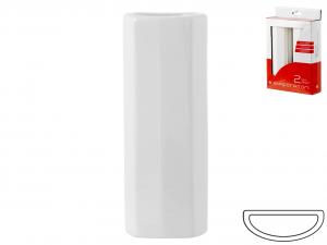HOME Set 6 Packs 2 Evaporators Flat Hexagonal Ceramic Fresheners Italian Design