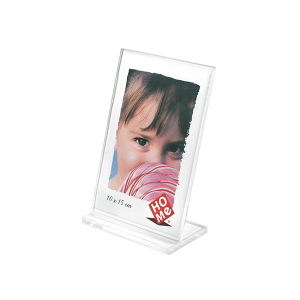 HOME Pack 6 Frames Vertical Acrylic Plastic 10X15 Exclusive Italian Design Brand