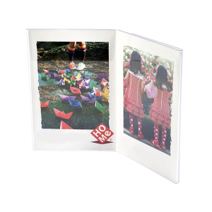 HOME Pack 6 Frames Vertical Acrylic Plastic 13X18 Exclusive Italian Design Brand