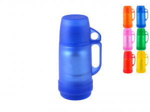 HOME Set 6 Thermos Transparent colors Camping Picnic Exclusive Italian Style