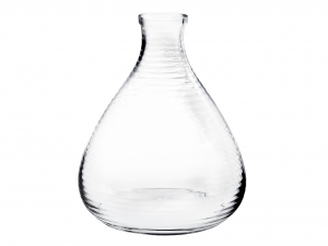 HOME Vase Blown Glass Masai 28.5 Cm Exclusive Brand Design Made in Italy