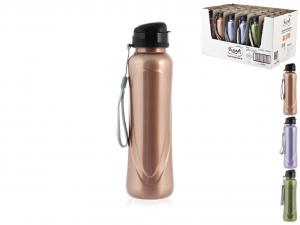HOME Pack 24 Bottle Pet Colors metallized 0,63Lt Exclusive Italian Design Brand